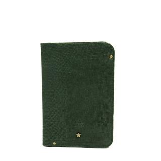 Mila Louise Ory Lezard Porte Cartes Bleu Vert
