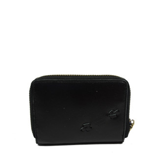 Mila Louise Roma Wallet Leather Back to Black Back