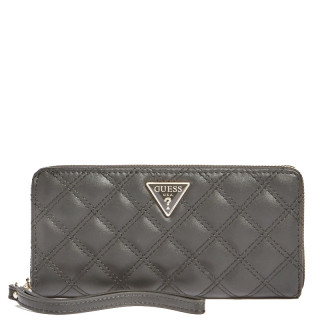 Guess Cessily Compagnon Large Zip Around Black