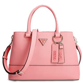 Guess Cordelia Sac à Main Saffiano Pink