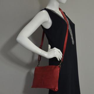 Biba Boston Crossbody Bag and BT5 Rojo Pocket
