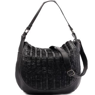 Biba Hardy Negro Shoulder Bag