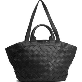 Biba Lewisburg Bag Cabas Braided Negro