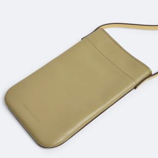 Gerard Darel Tresor Pochette Smartphone Cuir Tilleul