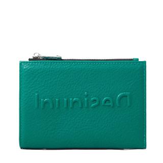 Desigual Emma Porte-Monnaie allongé logo Dark Green