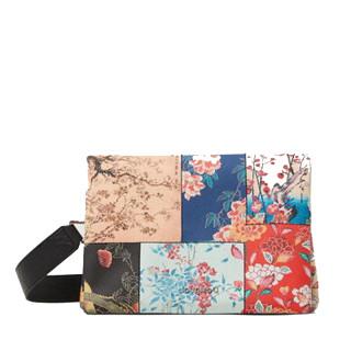 Desigual Magnus Dortmund Sac à bandoulière patchwork fleurs