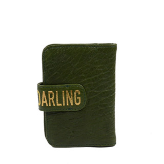 Virginie Darling Mini Portefeuille Bubble Spinach