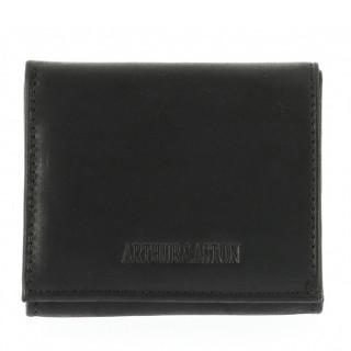 Arthur et Aston Destroy Porte Monnaie Boîte 94-771 Noir face