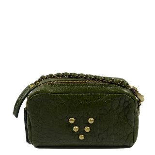 Virginie Darling Sac Make Up Bubble Spinach