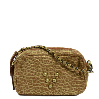 Virginie Darling Sac et Trousse Make Up Bubble Or