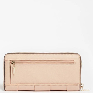 Guess Liberty City Compagnon Large Zip Around Almond