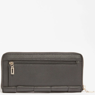 Guess Liberty City Compagnon Large Zip Around Black