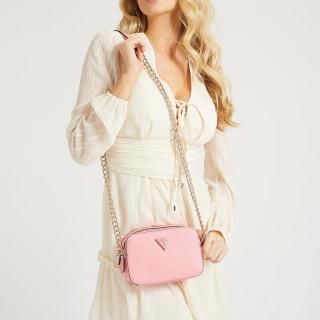 Guess Noelle Crossbody Bag 4G Pink