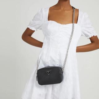 Guess Noelle Crossbody Bag 4G Black