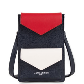 Lancaster Maya Dark Blue Red Ecru Smartphone Case