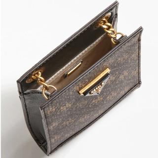 Guess Cordelia Pochette Portable Marron Bnl