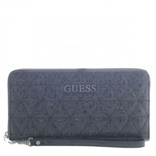 Guess Wessex Compagnon Large Zip Around Black