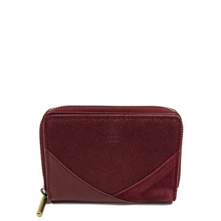 Mila Louise Roma Wallet Leather Back to Red