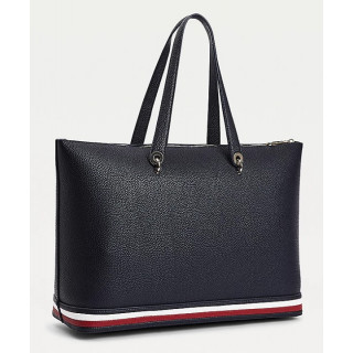 copy of Tommy Hilfiger Iconic T Small Bag Reporter Logo Desert Sky