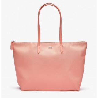 copy of Lacoste Large Zippé Cabas Bag L12.12 Alizarine