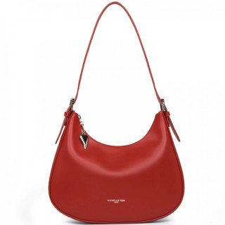 Lancaster Constance Messenger Bag 437-10 Red