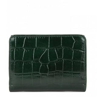 Lancaster Exotic Croco Wallet 124-11 Pine Green