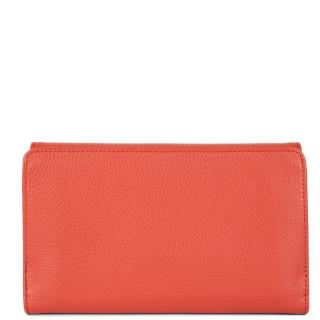 Lancaster Foulonne Double Wallet Companion 170-22 Blush