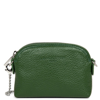 Lancaster Foulonne Double Wallet Currency 170-28 Pine Green