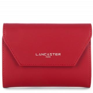Lancaster Constance Portefeuille Dos à Dos 137-02 Rouge