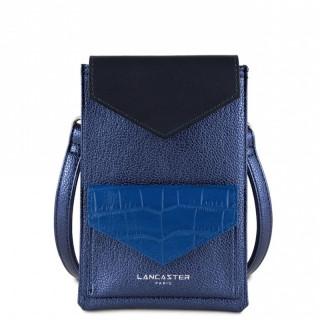 Lancaster Maya Smartphone Saphir Bleu-Roi Bleu-Foncé