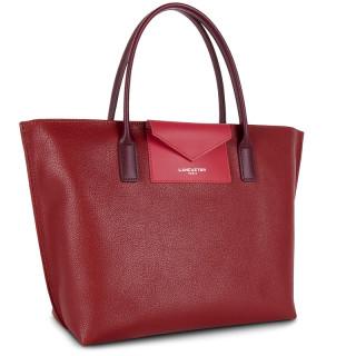 Lancaster Maya Bag Cabas 517-18 Carmin Framboise Pourpre