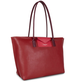 Lancaster Maya Grand Bag Cabas 517-20 Carmin Framboise Pourpre