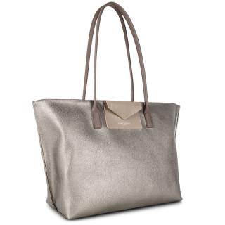 Lancaster Maya Grand Bag Cabas 517-20 Etain Galet Taupe