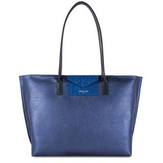 Lancaster Maya Grand Bag Cabas 517-20 Saphir Bleu-Roi Bleu-Foncé