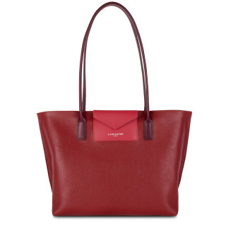 Lancaster Maya Bag Cabas 517-29 Carmin Framboise Pourpre