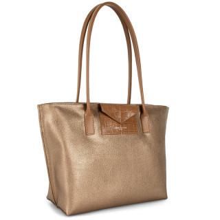 Lancaster Maya Bag Cabas 517-29 Cuivre Noisette Camel