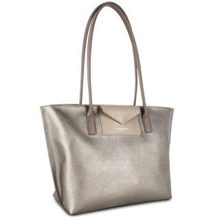 Lancaster Maya Bag Cabas 517-29 Etain Galet Taupe