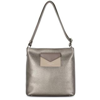 Lancaster Maya Crossbody Bag 517-49 Etain Galet Taupe