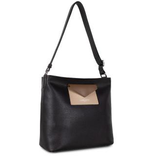Lancaster Maya Crossbody Bag 517-49 Black NUVI