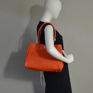 Berthille Elisa Bag Shopping Seed Orange