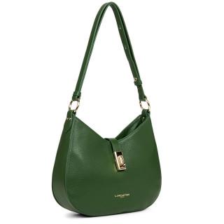 Lancaster Milano Messenger Bag 547-48 Vert Pin