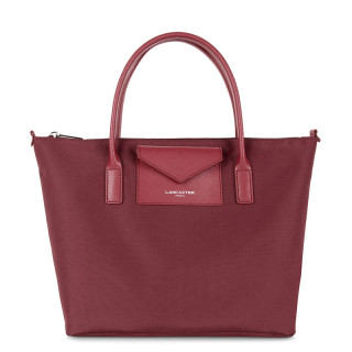 Lancaster Smart Kba Handbag 516-29 Bois De Rose