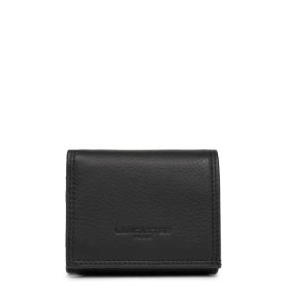 Lancaster Soft Vintage Homme Porte Monnaie 120-10 Noir