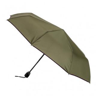 Parapluie Pliant Automatique Piganiol Essentiel Cyprés Biais Prune