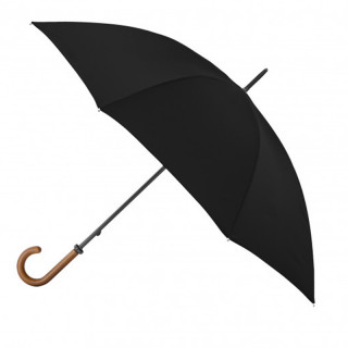 Parapluie Mini Golfer Droit Manuel Piganiol Essentiel Noir