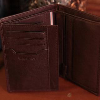 Serge Blanco Anchorage Portefeuille 3 Volets ANC21019 Cognac