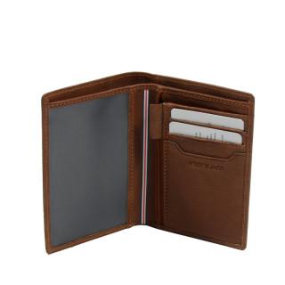 Serge Blanco Anchorage Porte Carte ANC21052 Cognac