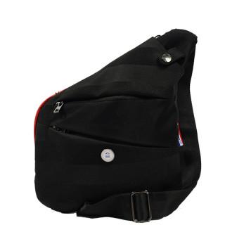 Serge Blanco Basik Holster Bag Worn Travers  BAS41002 Noir