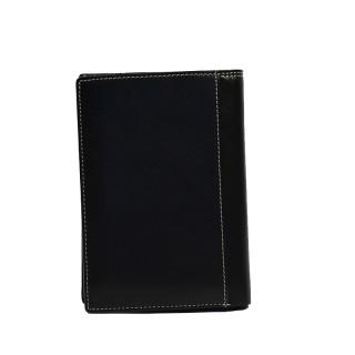 Serge Blanco Vancouver Grand leather Wallet VAN21013 Black