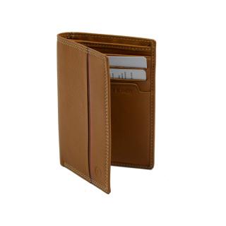 Serge Blanco Vancouver Mini leather Wallet VAN21052 Cognac